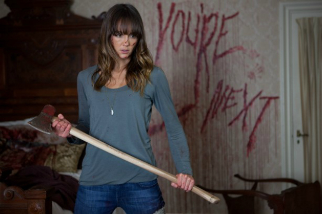 "Sharni Vinson in ""You're next"""