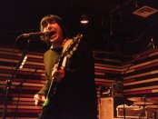Frank Iero (Frnkiero) from My Chemical Romance live in Montreal on February 25, 2015 (photo by Vitor Munhoz).