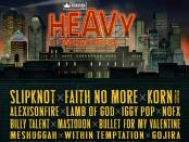 Heavy Montreal complete lineup poster 2015.