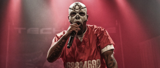 Tech N9ne live at Montreal's Club Soda on October 4, 2015 (photo by Yoann Robin).