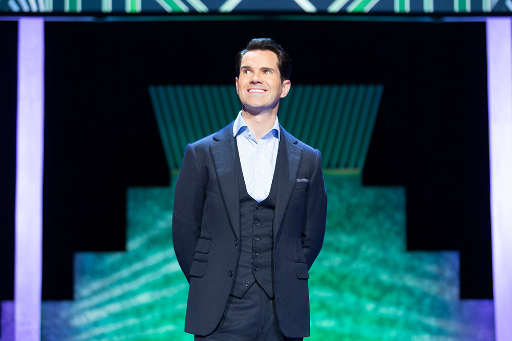 Brit comic Jimmy Carr is set to perform 5 show at this July's Just for Laughs
