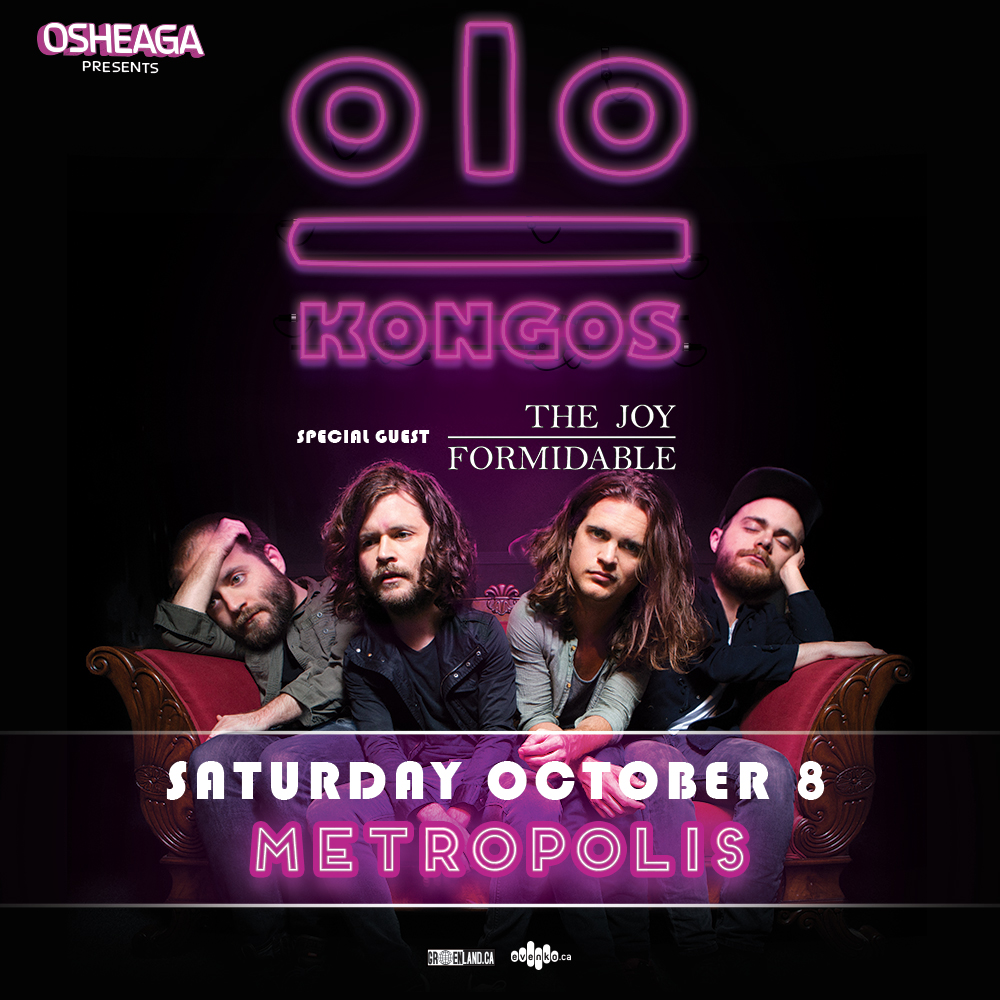 Contest: Win tickets to see Kongos in Montreal on Oct. 8 1
