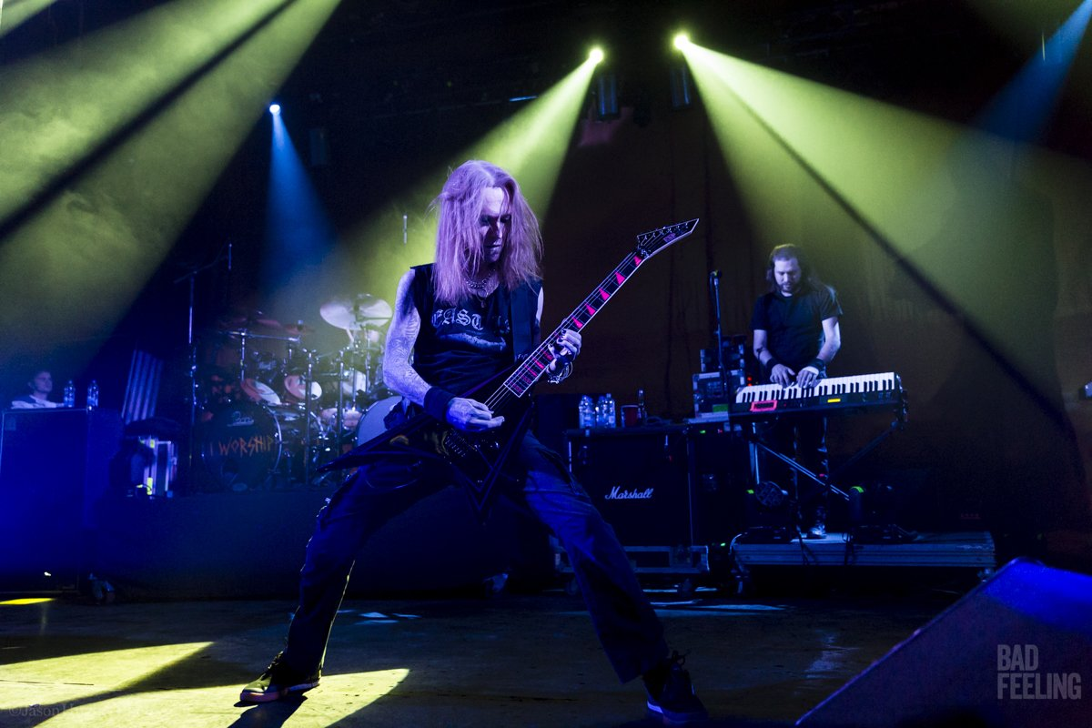 Children of Bodom live in Montreal, November 24, 2016