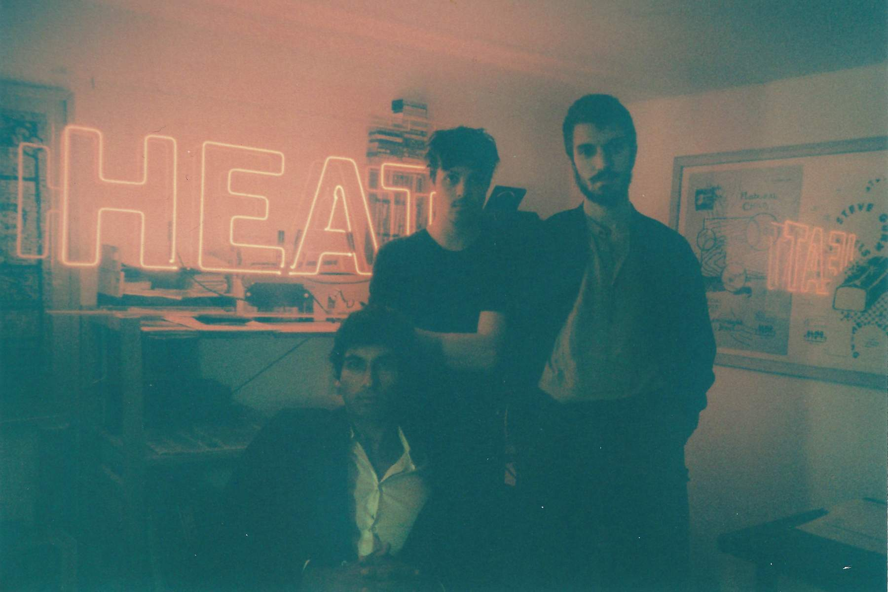Montreal buzz trio Heat launch their debut full-length Overnight