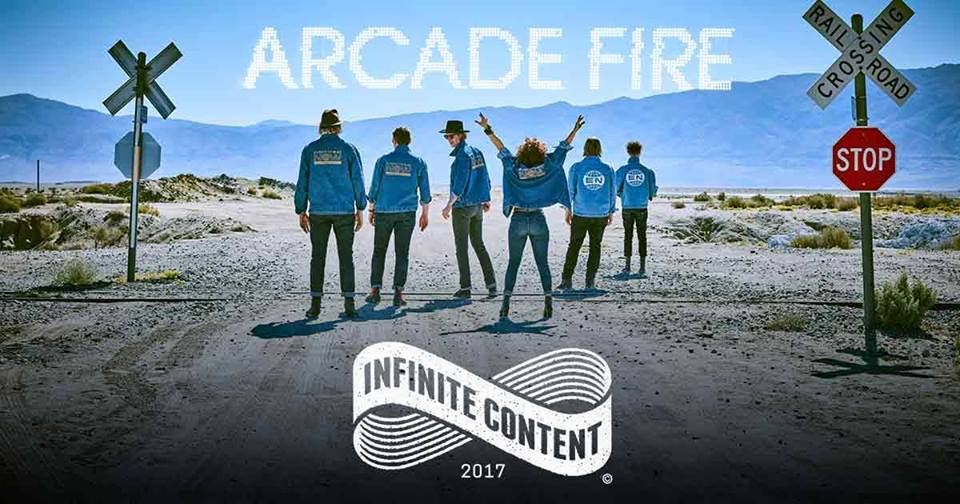 Arcade Fire and Wolf Parade to play Bell Centre on September 6 Arcade Fire – 2017 Tour Tue Sep 05 Quebec City, QC Centre Videotron Wed Sep 06 Montreal, QC Bell Centre Sat Sep 09 Ottawa, ON Canadian Tire Centre Tue Sep 12 New York, NY Madison Square Garden Fri Sep 15 Boston, MA TD Garden Sat Sep 16 Washington, DC Verizon Center Sun Sep 17 Philadelphia, PA Wells Fargo Center Thu Sep 21 Atlanta, GA Infinite Energy Arena Fri Sep 22 Tampa, FL USF Sun Dome Sat Sep 23 Miami, FL Watsco Center at the University of Miami Tue Sep 26 New Orleans, LA UNO Lakefront Arena Wed Sep 27 Austin, TX Frank Erwin Center Thu Sep 28 Dallas, TX American Airlines Center Wed Oct 11 Edmonton, AB Rogers Place Thu Oct 12 Calgary, AB Scotiabank Saddledome Sat Oct 14 Vancouver, BC Pacific Coliseum Sun Oct 15 Seattle, WA Key Arena Tue Oct 17 Oakland, CA Oracle Arena Wed Oct 18 San Diego, CA Viejas Arena Fri Oct 20 Los Angeles, CA The Forum Sun Oct 22 Las Vegas, NV Mandalay Bay Events Center Wed Oct 25 Denver, CO Pepsi Center Fri Oct 27 Kansas City, MO Silverstein Eye Centers Arena Sun Oct 29 St. Paul, MN Xcel Energy Center Mon Oct 30 Chicago, IL United Center Wed Nov 01 Windsor, ON Windsor Credit Family Union Centre Fri Nov 03 Toronto, ON Air Canada Centre  Read More: Arcade Fire announce new album, 'Everything Now,' & tour (including MSG) | http://www.brooklynvegan.com/arcade-fire-announce-new-album-everything-now/?trackback=tsmclip