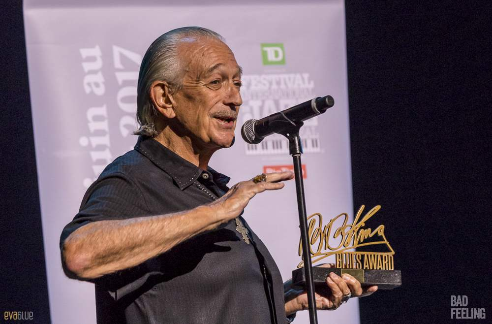 Charlie Musselwhite live at Montreal International Jazz Festival. Photo by Eva Blue.