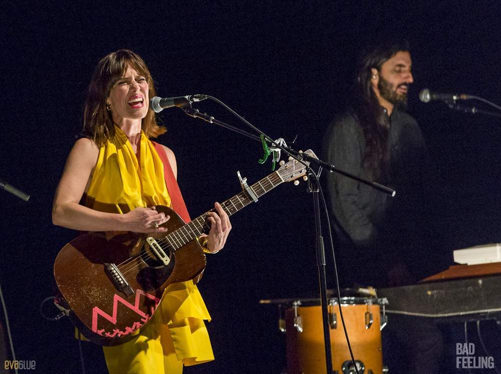 Feist live at Montreal International Jazz Festival. Photo by Eva Blue.