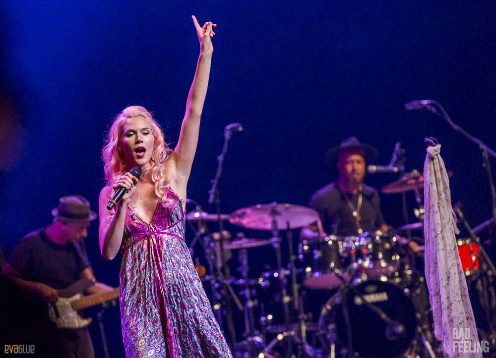 Joss Stone live at Montreal International Jazz Festival. Photo by Eva Blue.