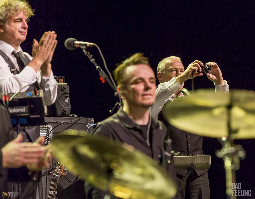 King Crimson live at Montreal International Jazz Festival. Photo by Eva Blue.