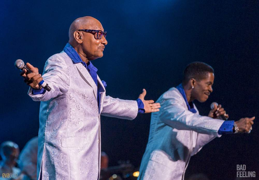 The Four Tops live at the Montreal International Jazz Fest. Photo by Eva Blue.
