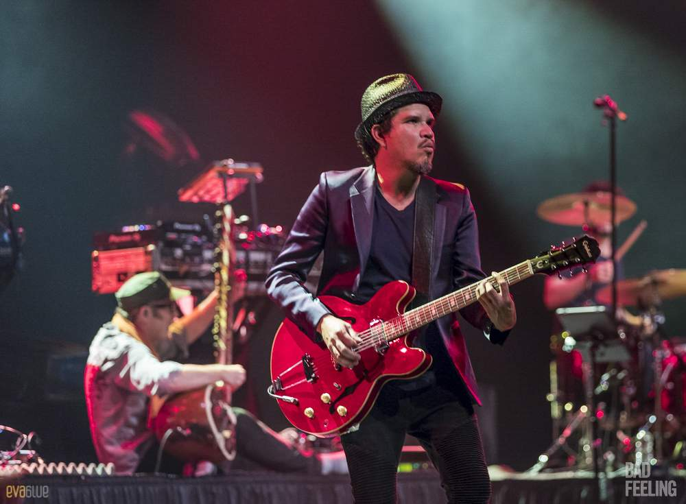 Thievery Corporation live at Montreal International Jazz Festival. Photo by Eva Blue.