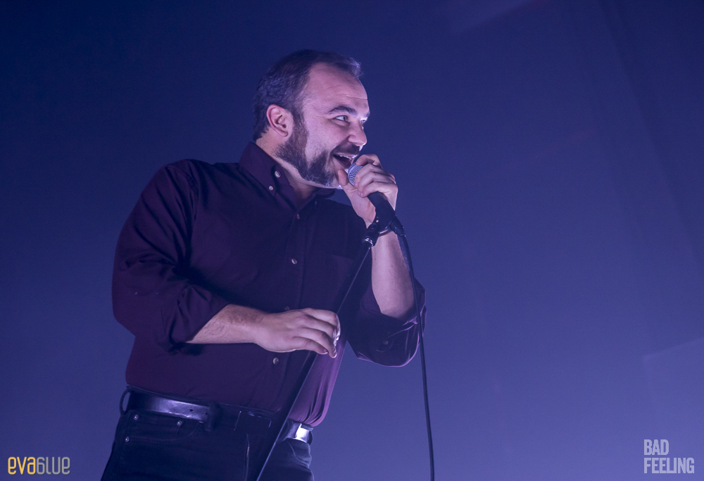 Photos: Future Islands returned to Montreal for a packed MTelus show