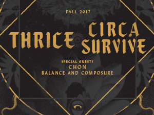 Win tickets to see Thrice and Circa Survive in Montreal November 28