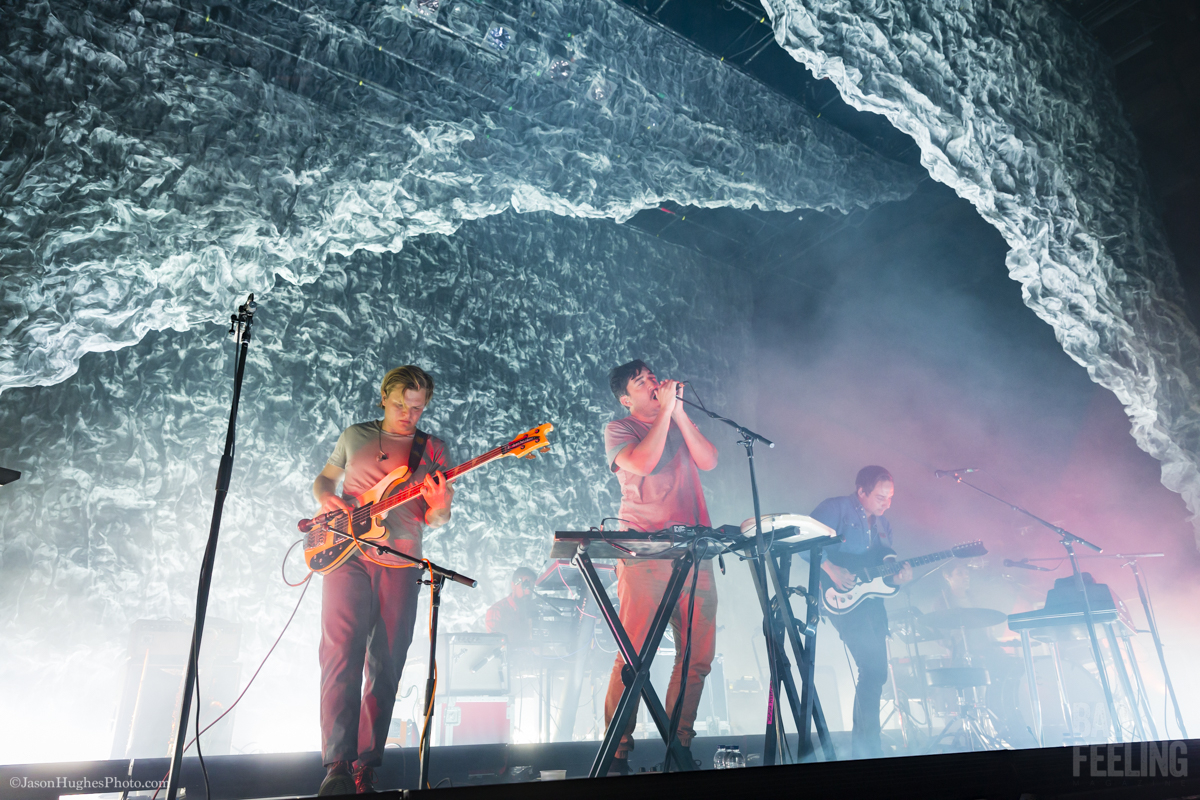Grizzly Bear live at MTelus, November 26, 2017