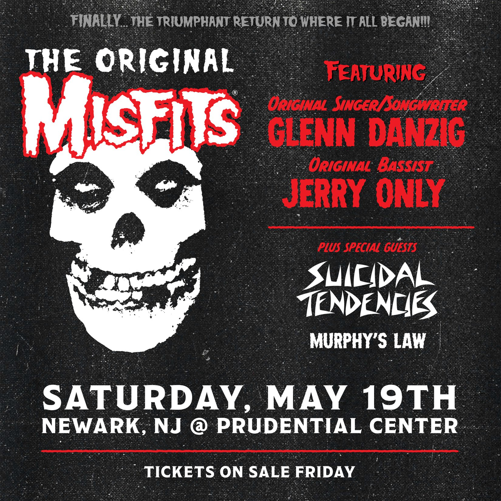 The reunited Misfits tease New York show 1