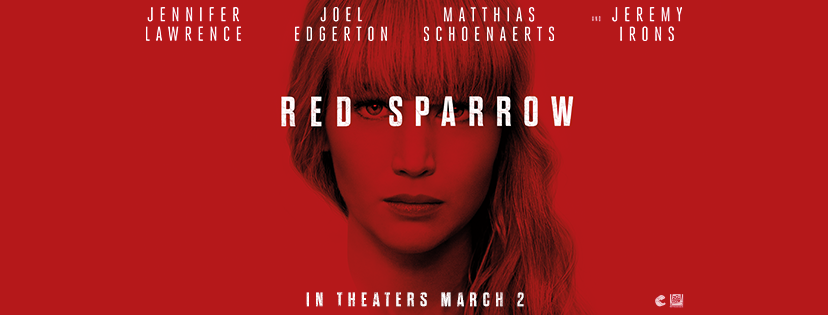 Win a double pass to see an advance screening of RED SPARROW in Montreal Jennifer Lawrence torrent contest giveaway