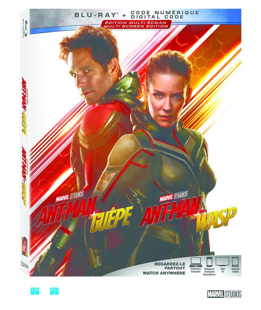Contest! Win a copy of Marvel's Ant-Man and the Wasp on Blu