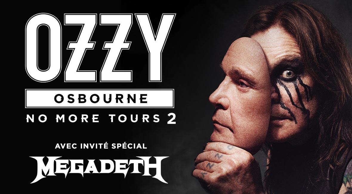 Megadeth Tour Dates 2020 Ozzy Osbourne Postpones all Tour Dates to 2020 | Bad Feeling Magazine