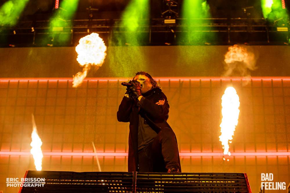 FEQ: Slipknot made an epic return to Quebec (photos) | Bad