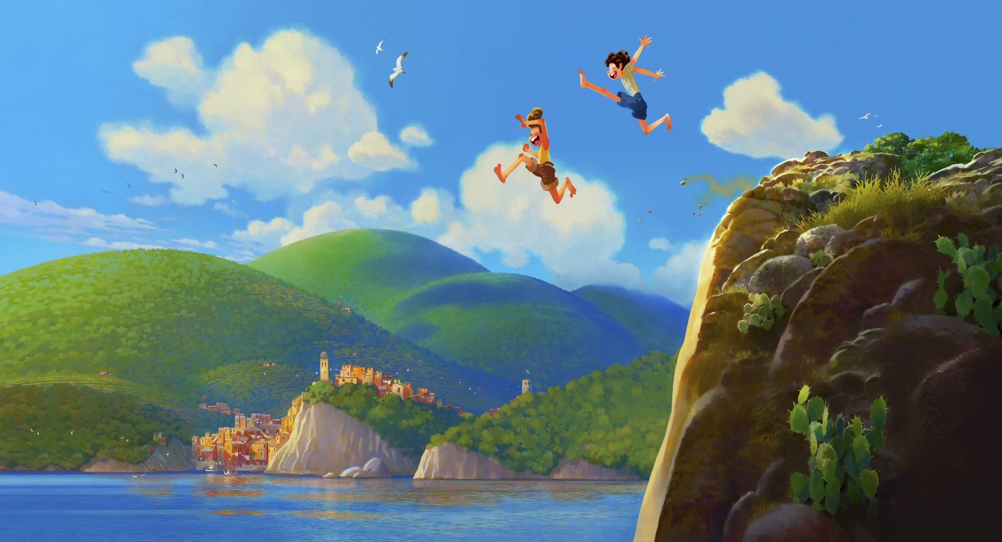 Pixar's Next Feature Film is 'Luca,' a Coming-of-Age Story Set on the Italian Riviera