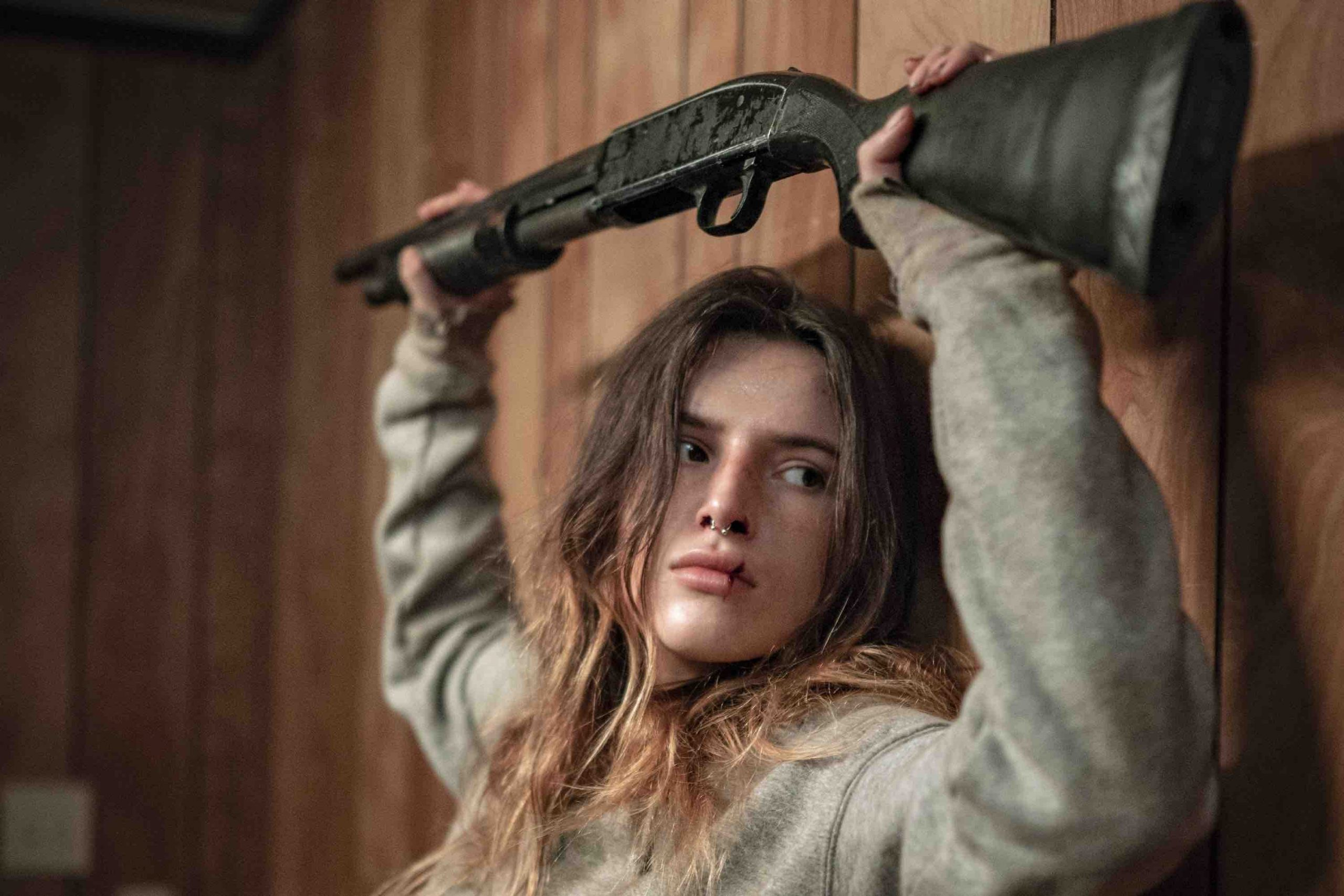 Girl review: Bella Thorne and Mickey Rourke (!) square off in a gritty  revenge thriller [Fantastic Fest/CIFF] - Bad Feeling Magazine
